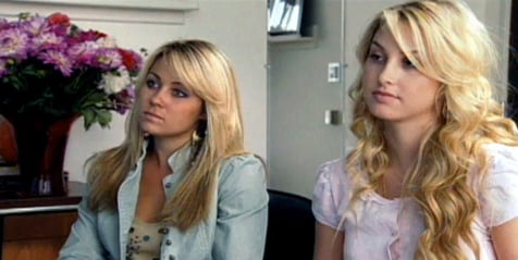 """Season 1, episode 1: In the first ever episode of The Hills, Lauren manages to land herself an internship at Teen Vogue where she meets Whitney. The pair have their outfits judged and Lauren is told she is too """"matchy""""."""