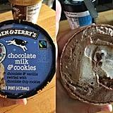 Ben & Jerry's Chocolate Milk & Cookies