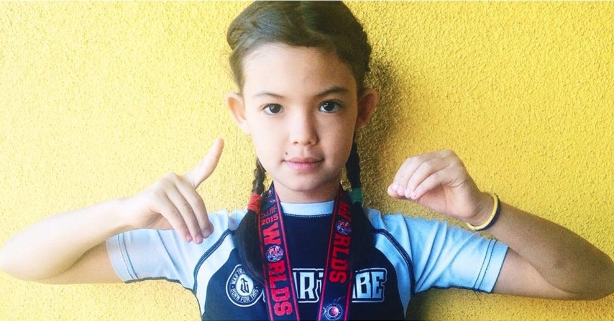 Halsey Chats Breaking Down Gender Stereotypes And: Jiu-Jitsu Student Akira Bua