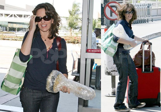 Tina Fey's Emmy Counts As Her One Personal Item