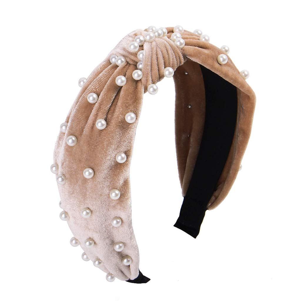 Pearl Velvet Headband