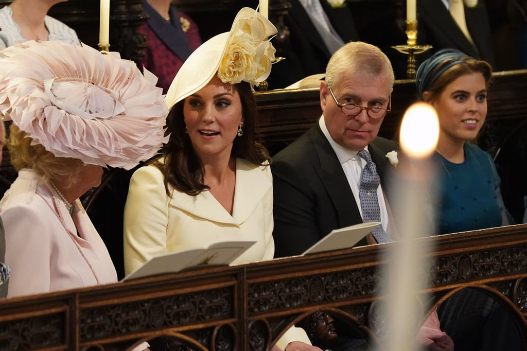 Royal Family at Prince Harry and Meghan Markle's Wedding