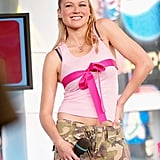 Jewel made an appearance on TRL in 2003.