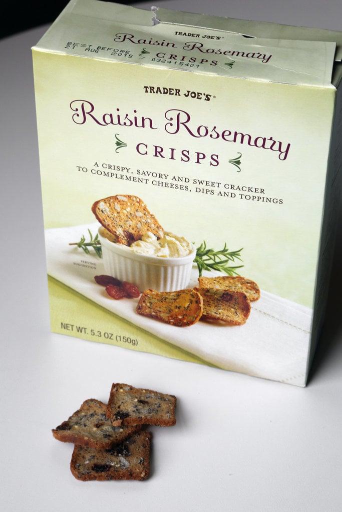 Raisin Rosemary Crisps ($4)