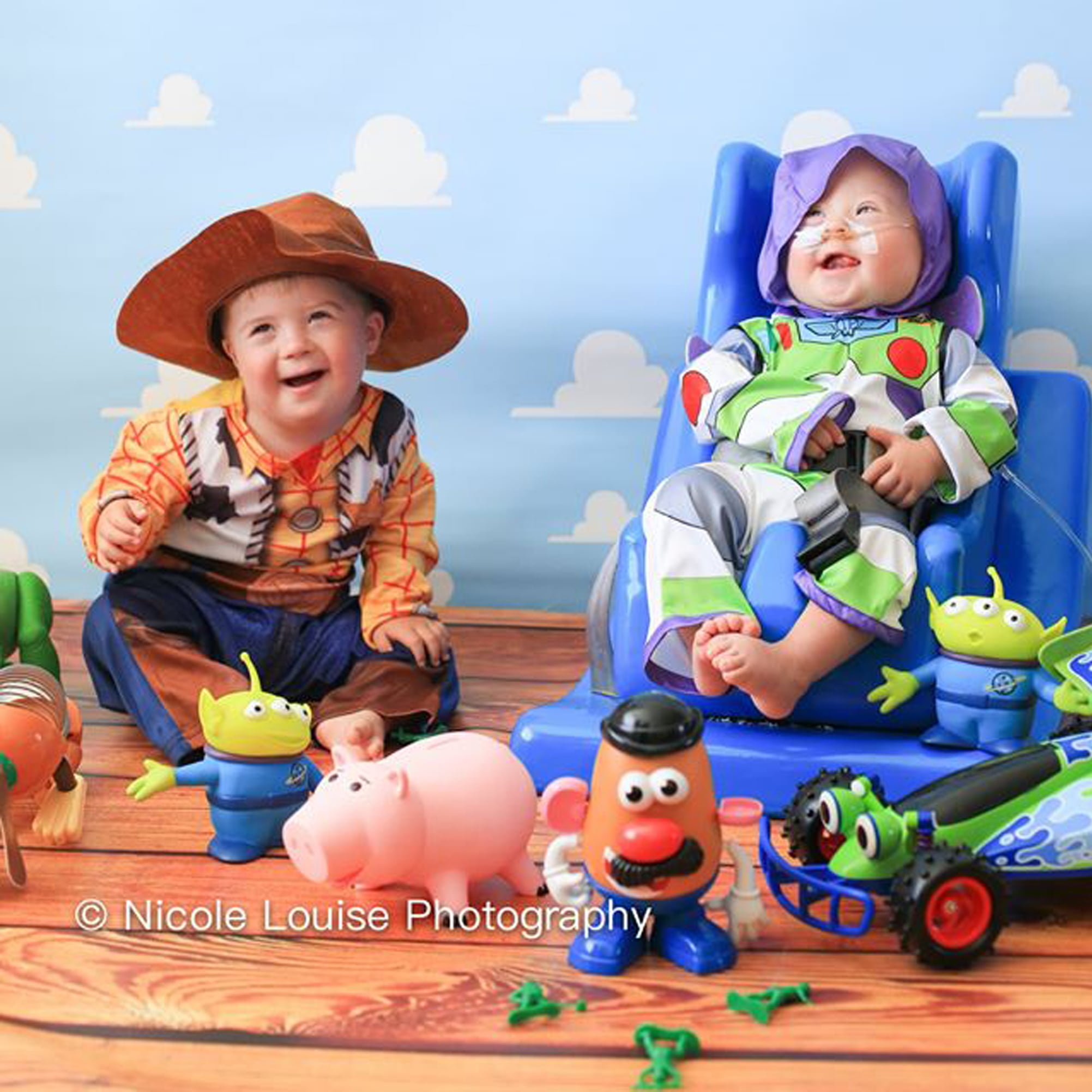 Kids With Down Syndrome Dressed As Disney Characters Popsugar Family