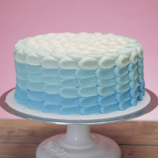 Magnolia Bakery Ombre Frosting