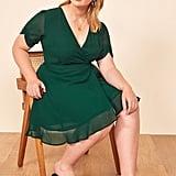 Reformation Monica Wrap Dress