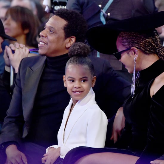 Blue Ivy Shushing Beyonce at the 2018 Grammys