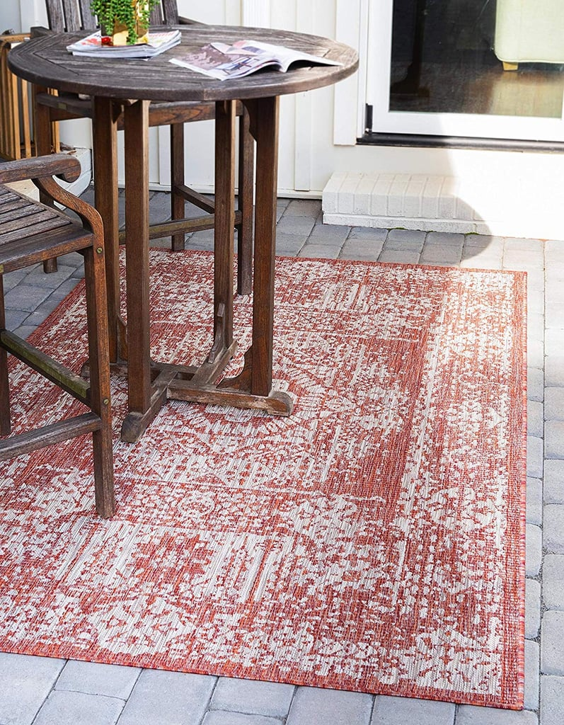 Unique Loom Outdoor Traditional Collection Distressed