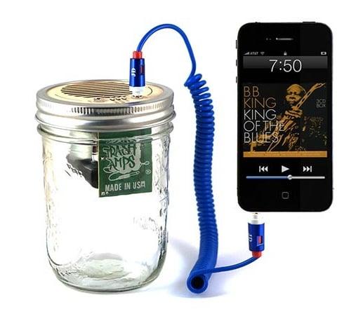 Mason Jar Speaker