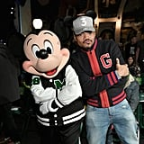 Chance the Rapper bonded with Mickey Mouse in March 2018.
