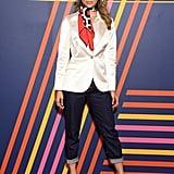 Jasmine Sanders at the TOMMYNOW Tommy Hilfiger x Zendaya Show