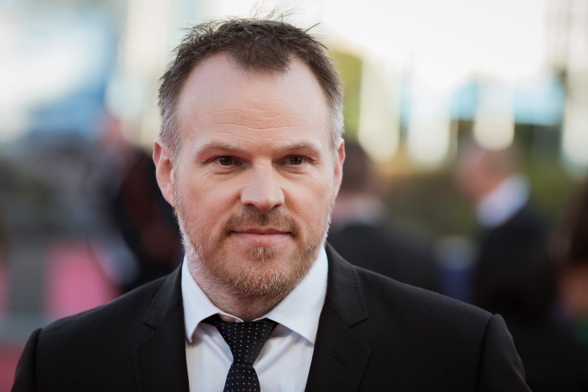 DEAUVILLE, FRANCE - SEPTEMBER 02:  Marc Webb arrives for the screening of the film