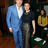 Damien Lewis and Helen McCrory at the Erdem Show