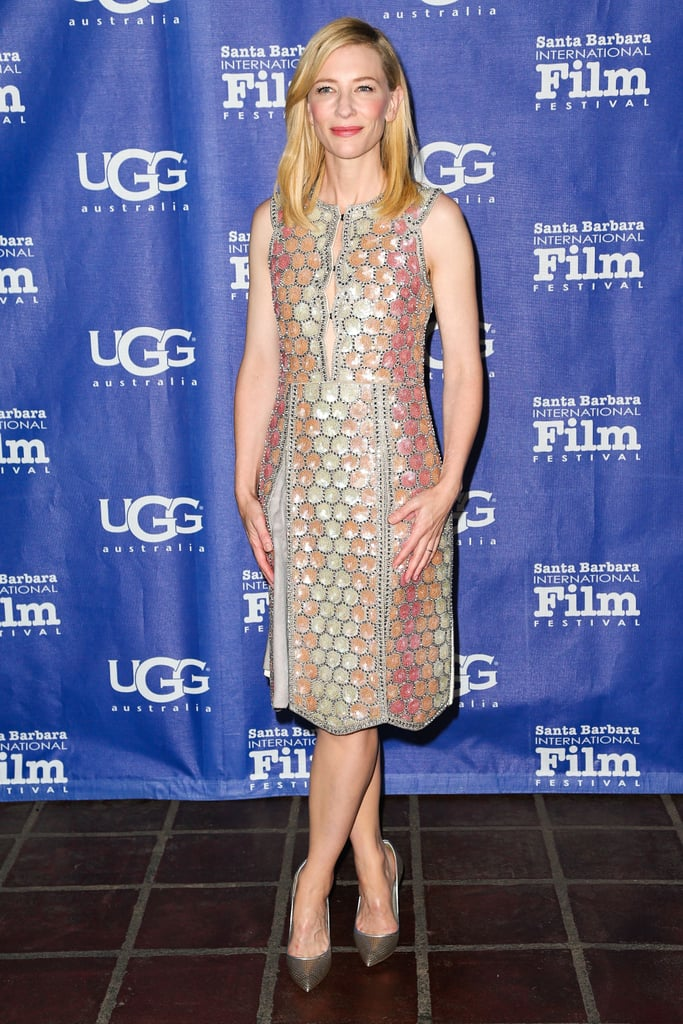 Cate Blanchett in Maison Martin Margiela at the 2014 Santa Barbara International Film Festival