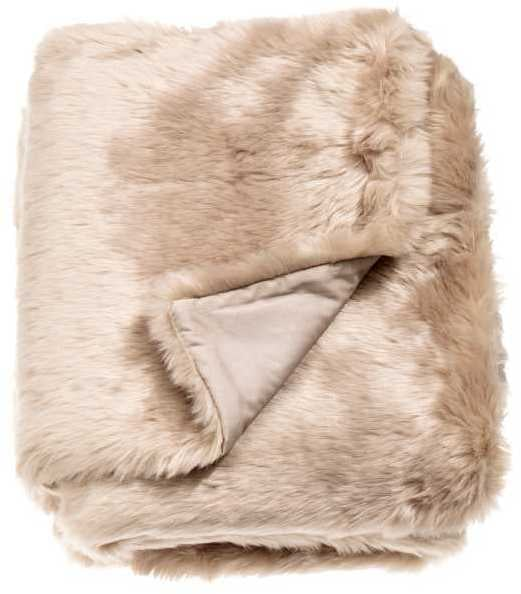 H&M Faux Fur Throw