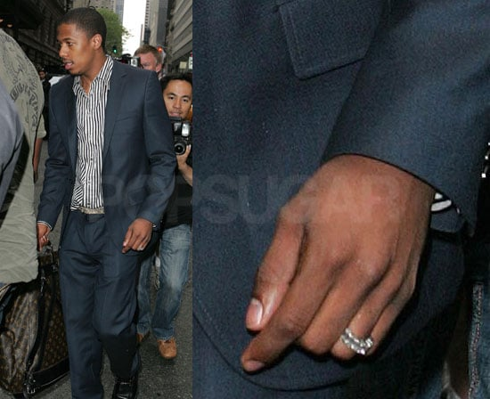 First Images of Nick Cannon's Wedding Ring With Mariah Carey