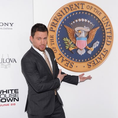 Channing Tatum at the White House Down in NYC