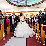 Her Father Walked Her Down the Aisle