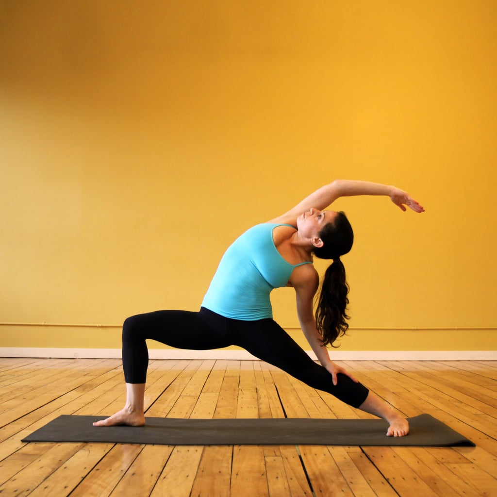 Yoga Sequence For Thighs   POPSUGAR Fitness