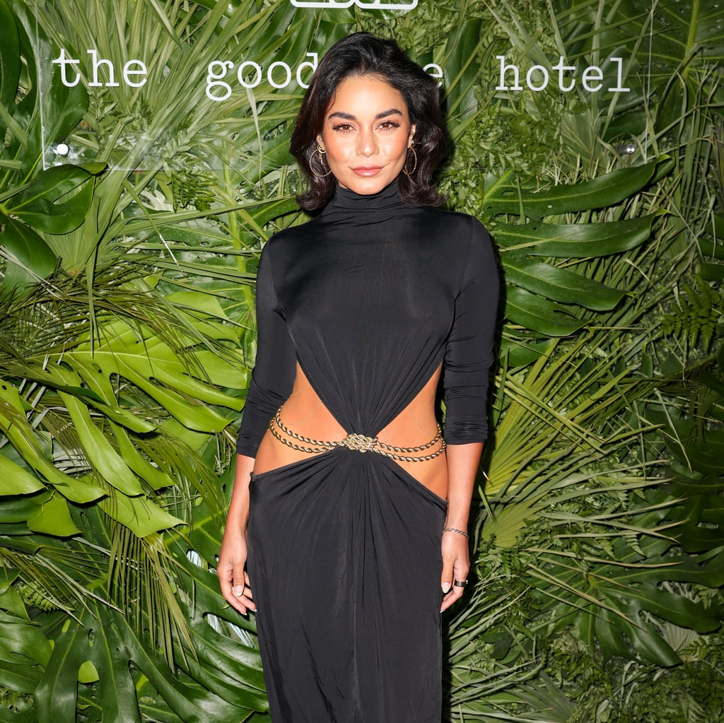 See Vanessa Hudgens's Sexy Low-Slung Cult Gaia Dress