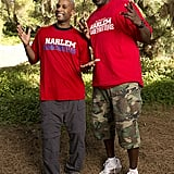 "Names: Herbert ""Flight Time"" Lang and Nate ""Big Easy"" Lofton Connection: Friends Ages: 37 and 32 Hometowns: Brinkley, AR, and New Orleans, LA Current occupation: Harlem Globetrotters Previous seasons: Fourth place in season 15 and second place in season 18"