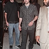 Justin Timberlake out in NYC.