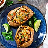 Stuffed Sweet Potatoes with Black Beans and Quinoa