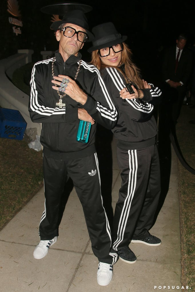 Brian Grazer and Veronica Smiley as Run DMC
