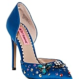 Betsey Johnson Mayson Embellished d'Orsay Pump