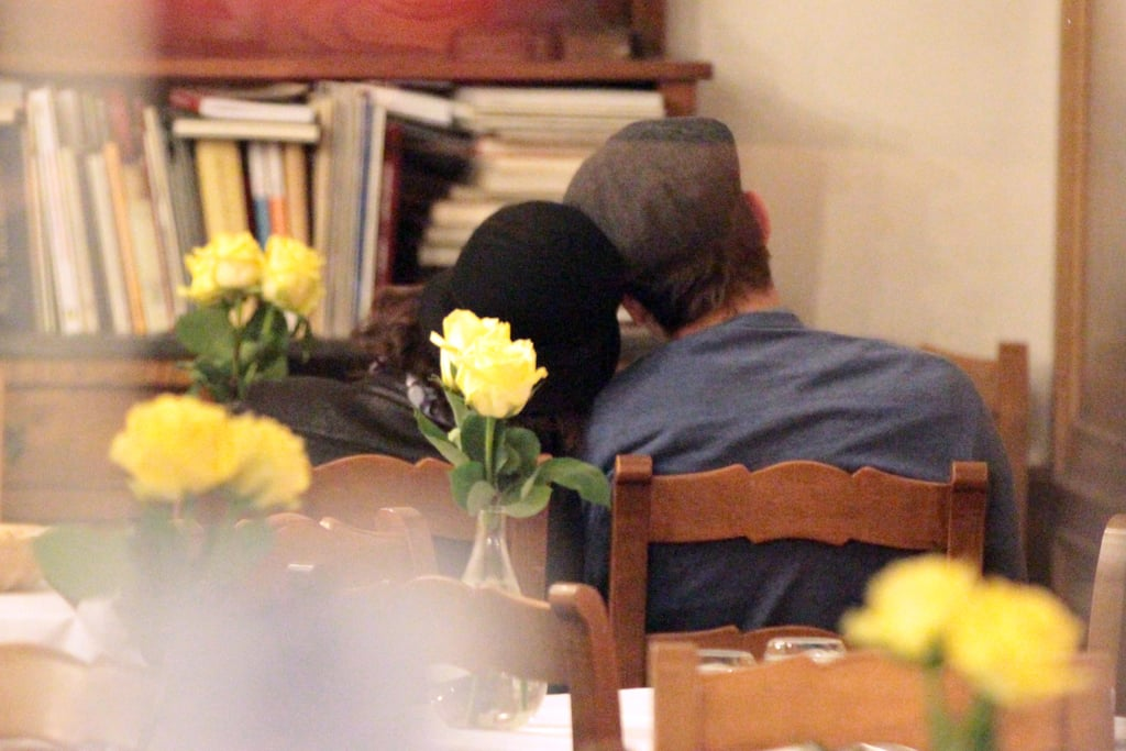 Ashton Kutcher and Mila Kunis Spend Thanksgiving Weekend Together in Rome
