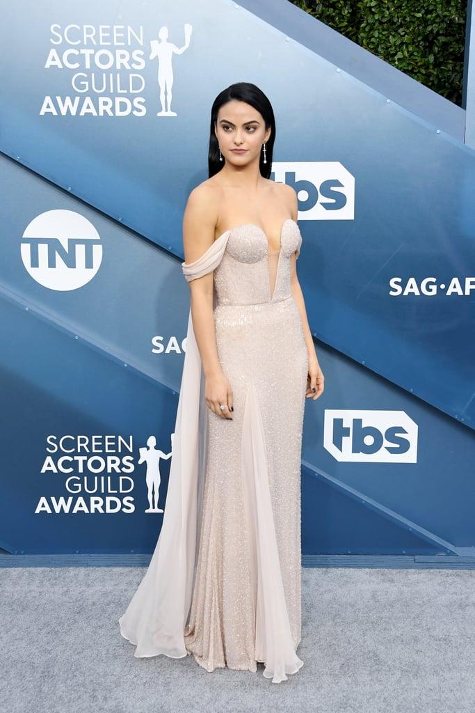 Camila Mendes at the 2020 SAG Awards