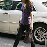 Queen Rania: A Functional, Chunky Bootie