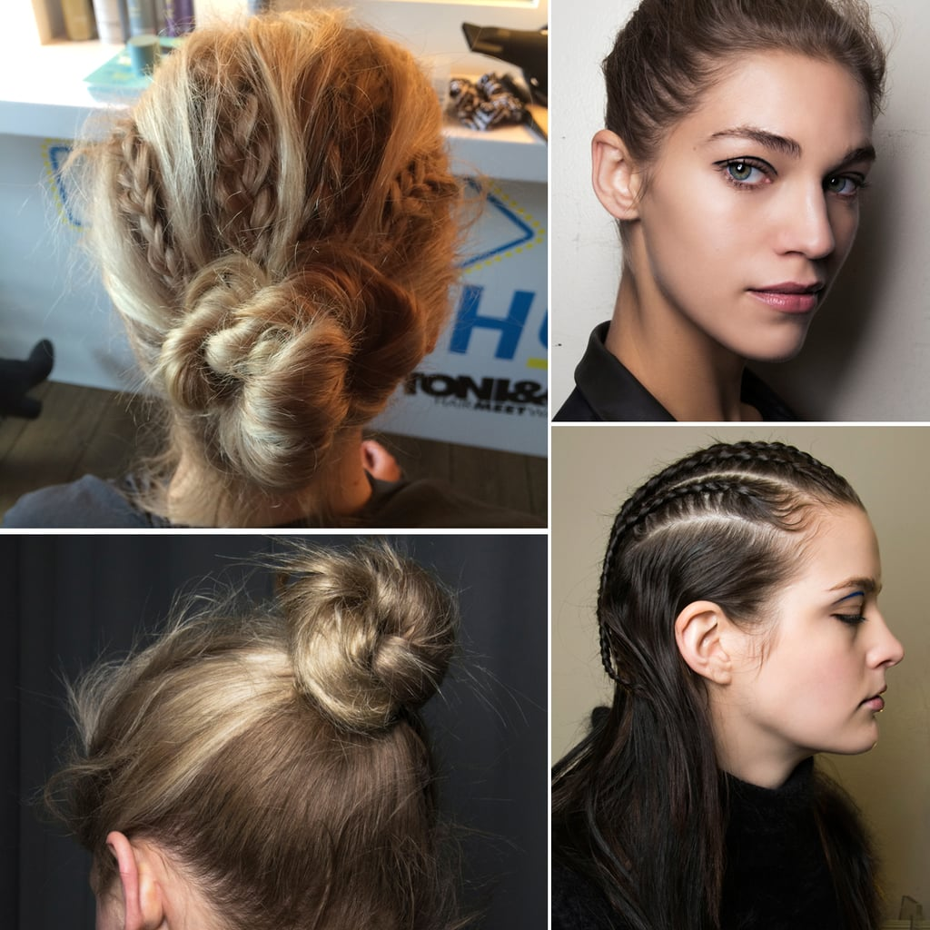 Braided Up Do Hairstyle How To