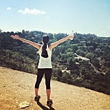 Nothing like a little fresh air on a hike. Gorgeous view, Lea!