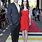 Megan Fox and Brian Austin Green at the Friends With Kids premiere on Sept. 9.