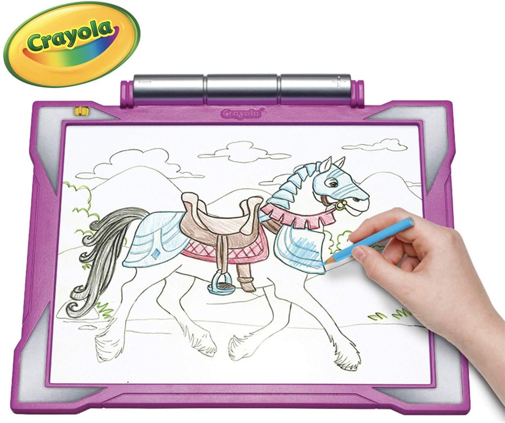 For 7-Year-Olds: Crayola Light-up Tracing Pad
