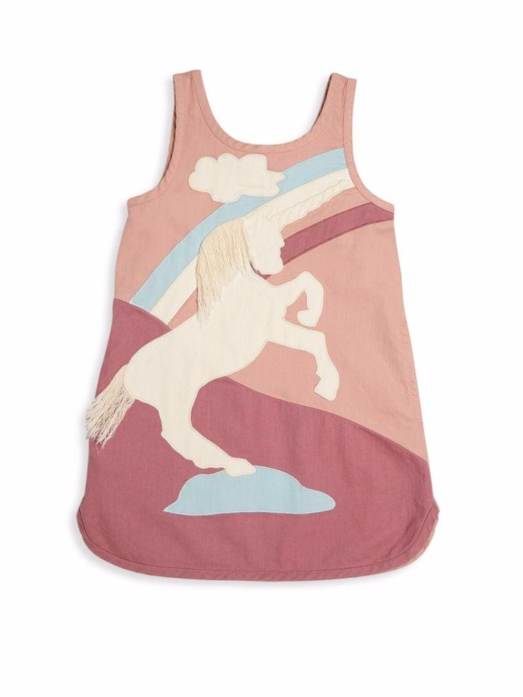 Stella McCartney Unicorn Denim Dress