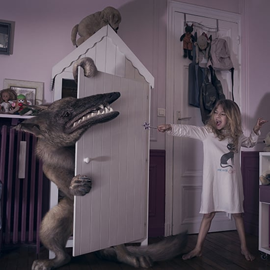Photos of Kids Fighting Monsters