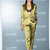 Irina Shayk at the Falconeri Press Day During Milan Fashion Week