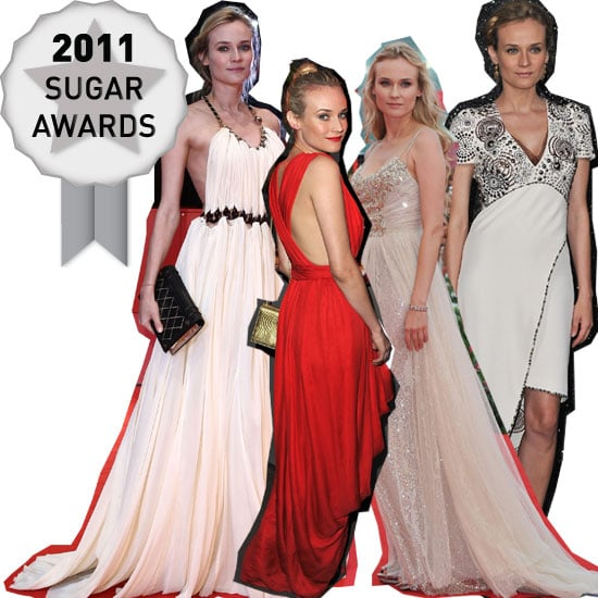 Diane Kruger Voted the Best Dressed Celebrity on the Red Carpet in 2011: See her Best Looks!