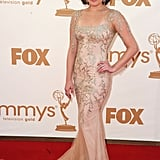 Elisabeth Moss at the Emmys.