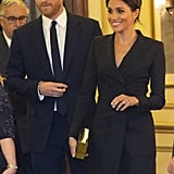 Harry and Meghan were a sight for sore eyes at a gala performance of Hamilton in August 2018.