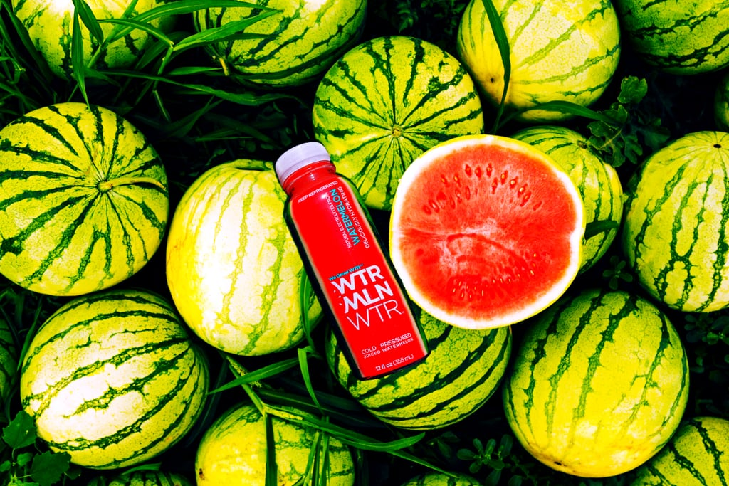 "Flavored water has always been a good option for those of us who think the plain stuff is a little too boring. It has the hydration benefits of water and, if the calories and sugar are low, is a much healthier flavored drink than most sodas. WTRMLN WTR, started in 2013 and backed by Beyoncé (yes, Beyoncé, who invested in it in 2016), takes those benefits and adds a few more, including an unexpected one: the drink saves both water and food waste. WTRMLN WTR is just what is sounds like (if you add the vowels back in): water extracted from watermelons, which are 92 percent H2O. That conserves water in a couple of ways: first, you're freeing up ""regular"" water for other uses; and second, watermelons themselves grow well in dry, arid climates. Essentially, ""they don't need a lot of water to grow water,"" the brand told POPSUGAR.      Related:                                                                                                           Be Kind to Your Body and the World With These 12 Eco-Friendly Activewear Brands               Another eco-friendly plus: WTRMLN WTR is sourced from bruised or misshapen melons, which are safe to eat but typically discarded before they get to consumers. Each bottle uses just over a pound of melon, both rind and flesh, which would typically get tossed out without use. After processing, the brand also sends as much leftover melon as it can back to farmers to help feed livestock. Nutrition-wise, WTRMLN WTR isn't a bad choice either. Each serving has 450 to 630 milligrams of potassium — the average banana has about 422. The water also includes the amino acid L-citrulline, which improves blood flow and may help you build muscle, and lycopene, an antioxidant that protects your cells from damage. The drink has about 12 grams of sugar, depending on the flavor, which come from the watermelon's natural sweetness; it doesn't include any added sugars. Flavors range from the fruity, like original (aka watermelon), cherry, and the newly-launched strawberry, to refreshing cucumber and ginger. Intrigued? Here's some more good news: these cold-pressed, planet-friendly drinks are all available to buy online at WTRMLN WTR's website. Read ahead for more flavors and nutrition info."