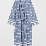 H&M Washed Linen Bathrobe
