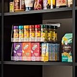 Set Of 4 Clear Pantry Organiser Bins