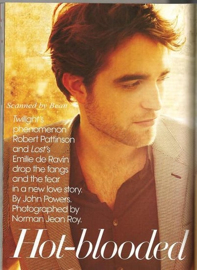 Robert Pattinson does Vogue-march 2010
