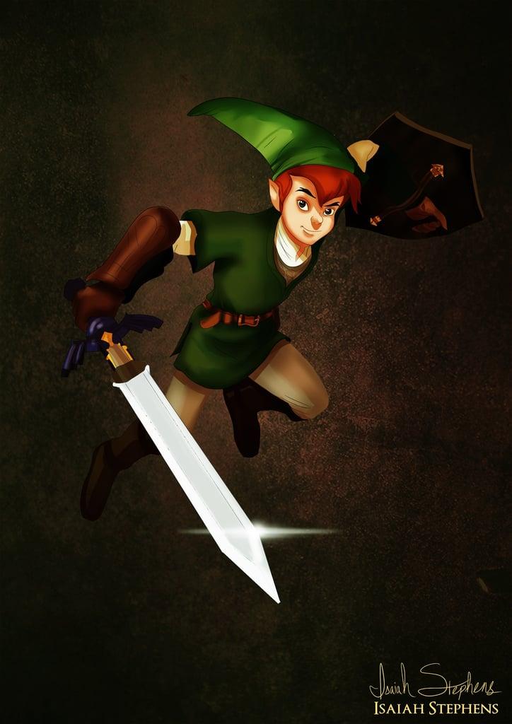 Peter Pan as Link | Di...
