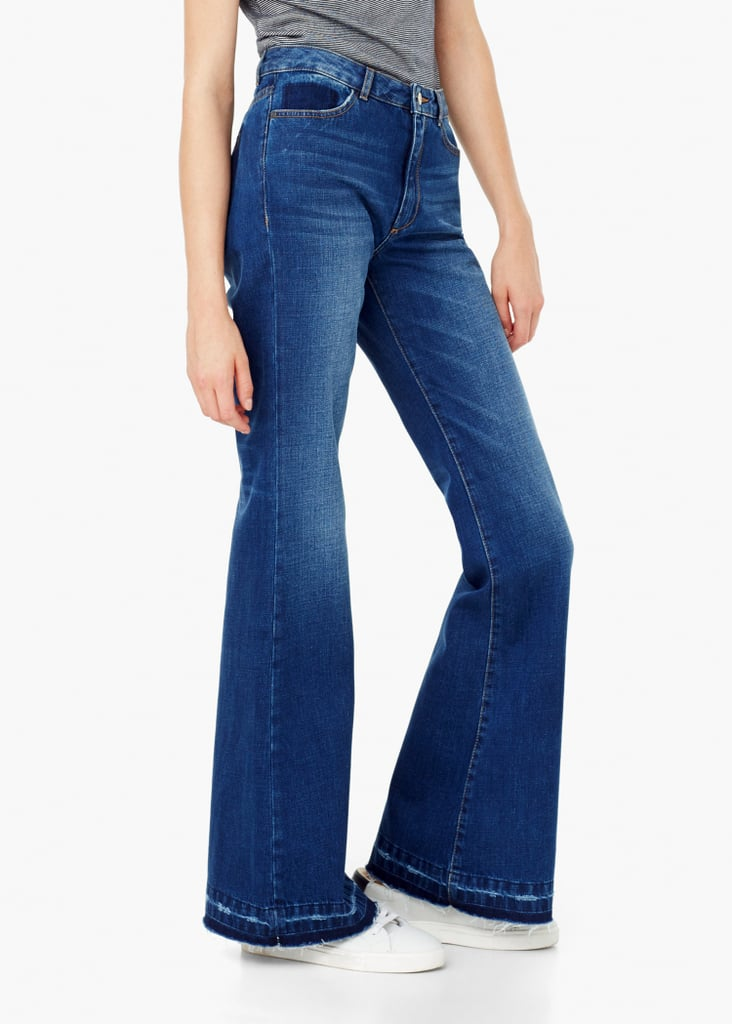 Mango Flared Taylor Jeans ($80)