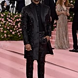 Michael B. Jordan at the 2019 Met Gala